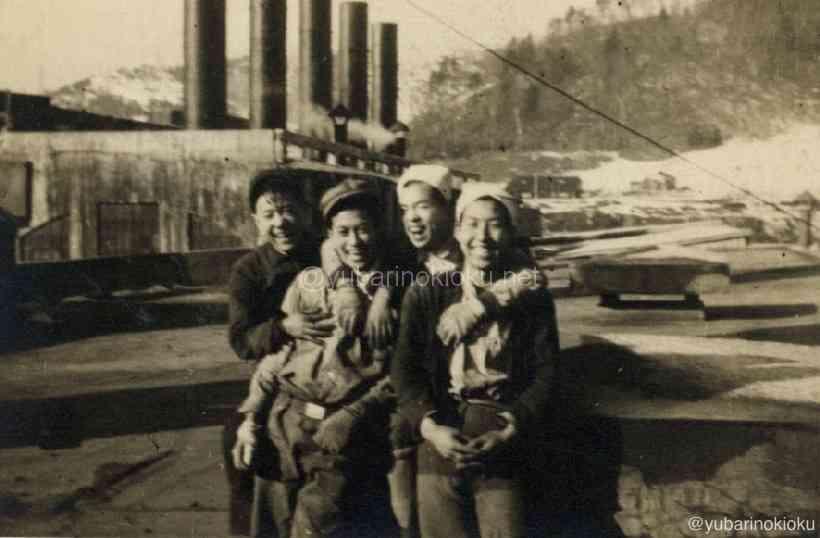 63ストの際、電力所にアルバイトに行った若い鉱員たち