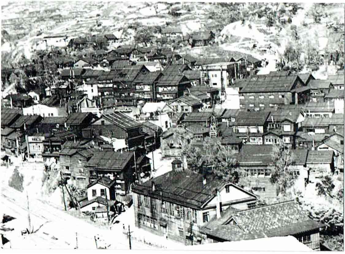 昭和24年の大火前の本町
