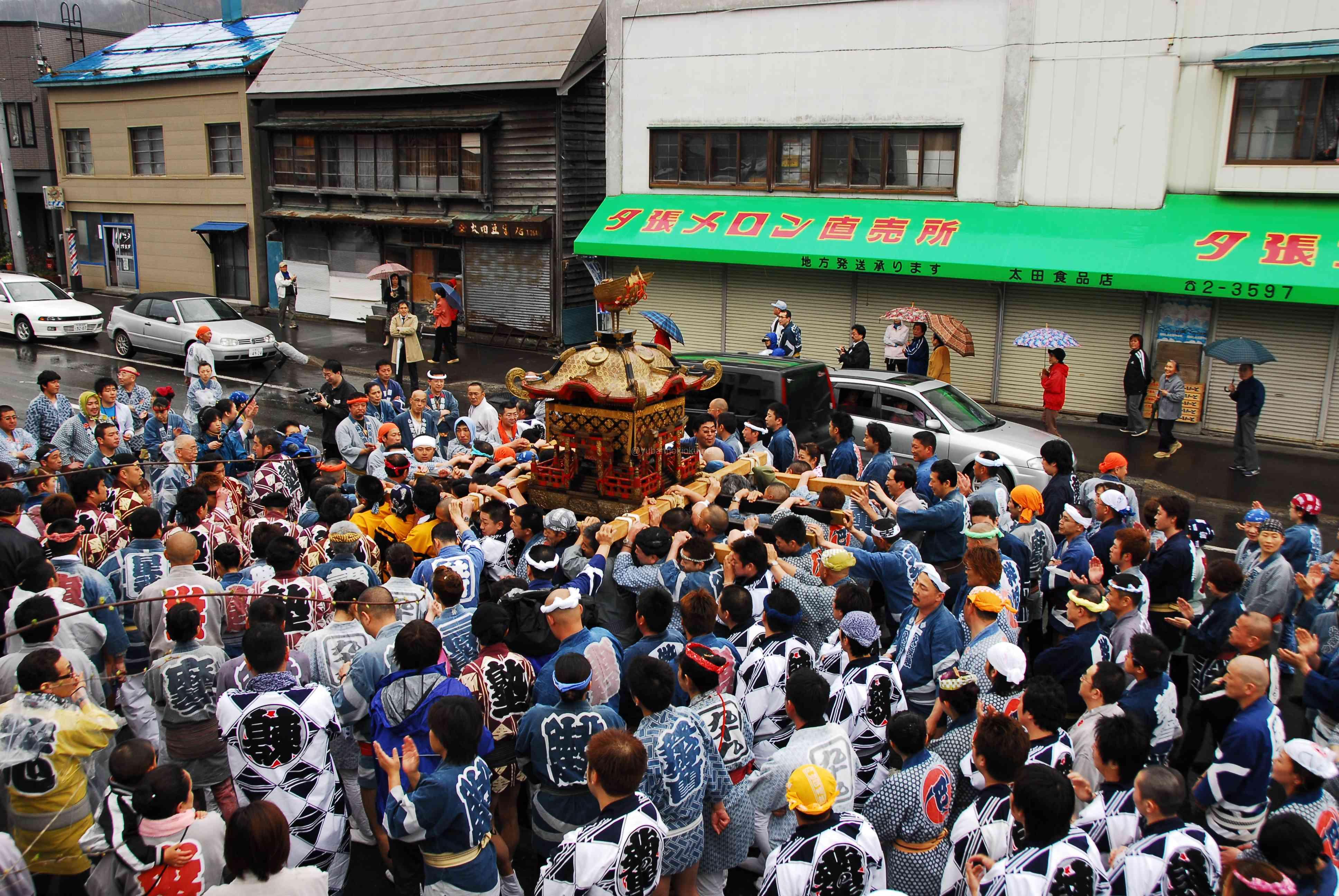 2007年夕張神社例大祭