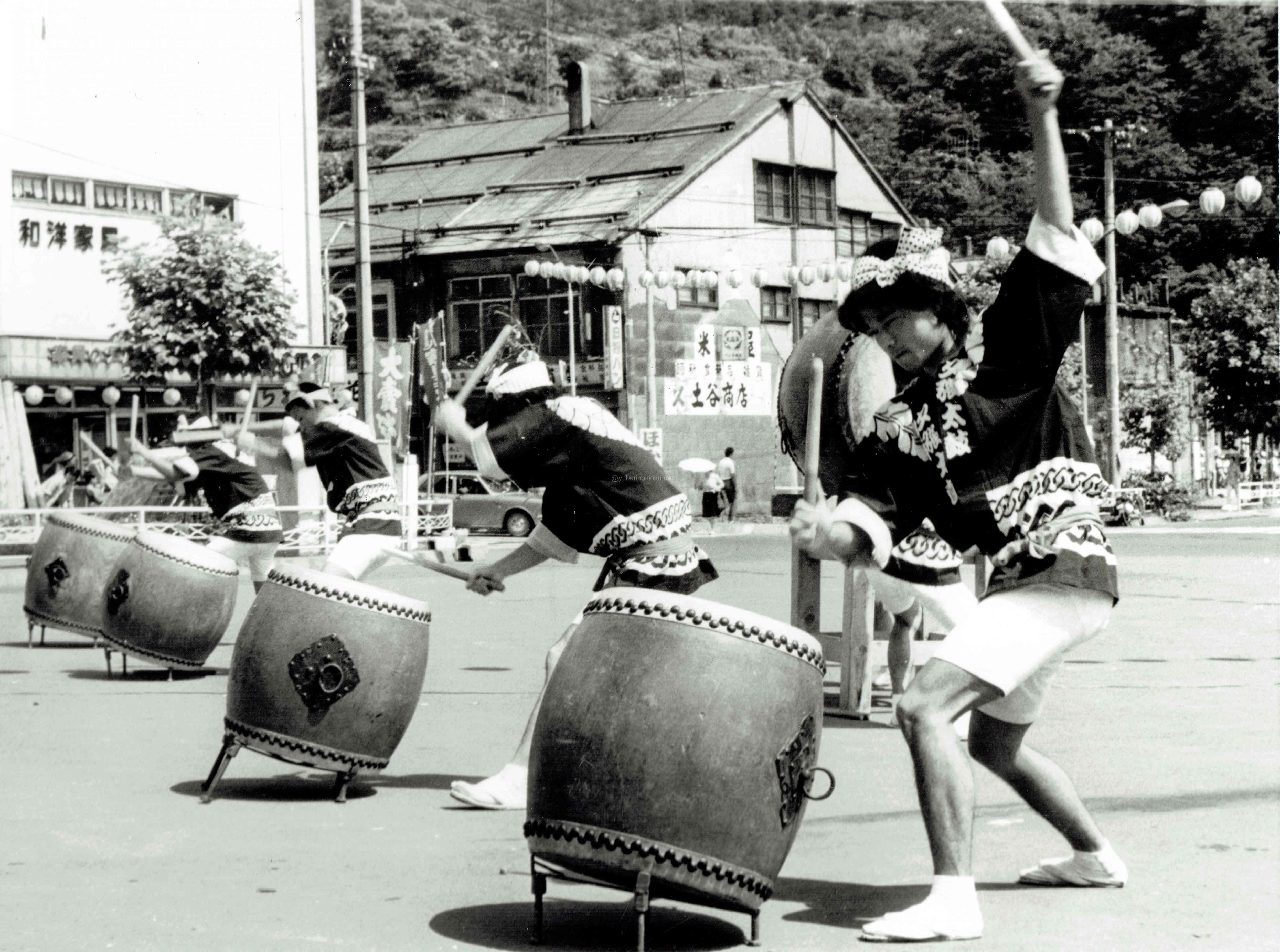 昭和40年代の夕張太鼓