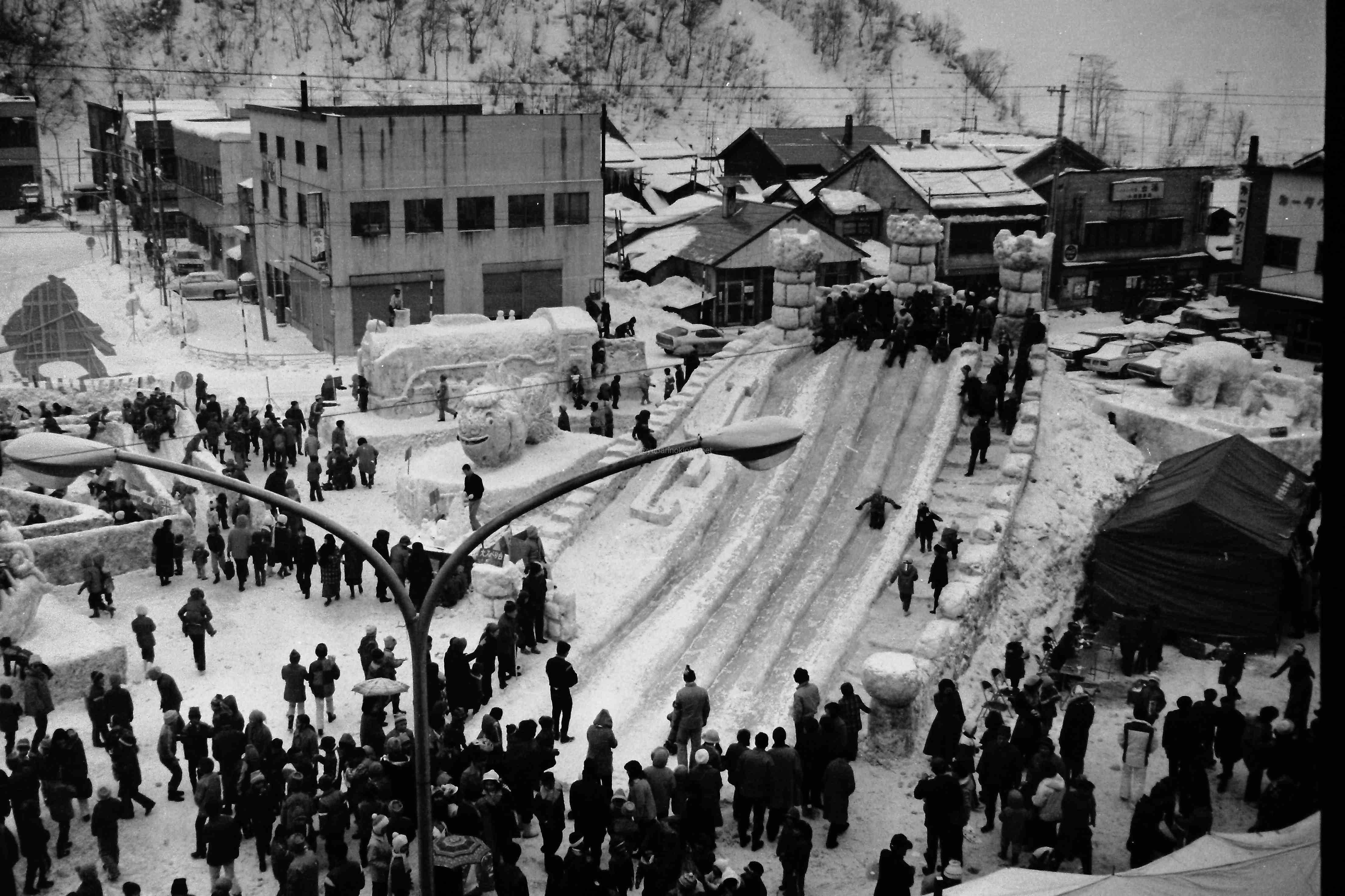 昭和51年の第二回寒太郎まつり