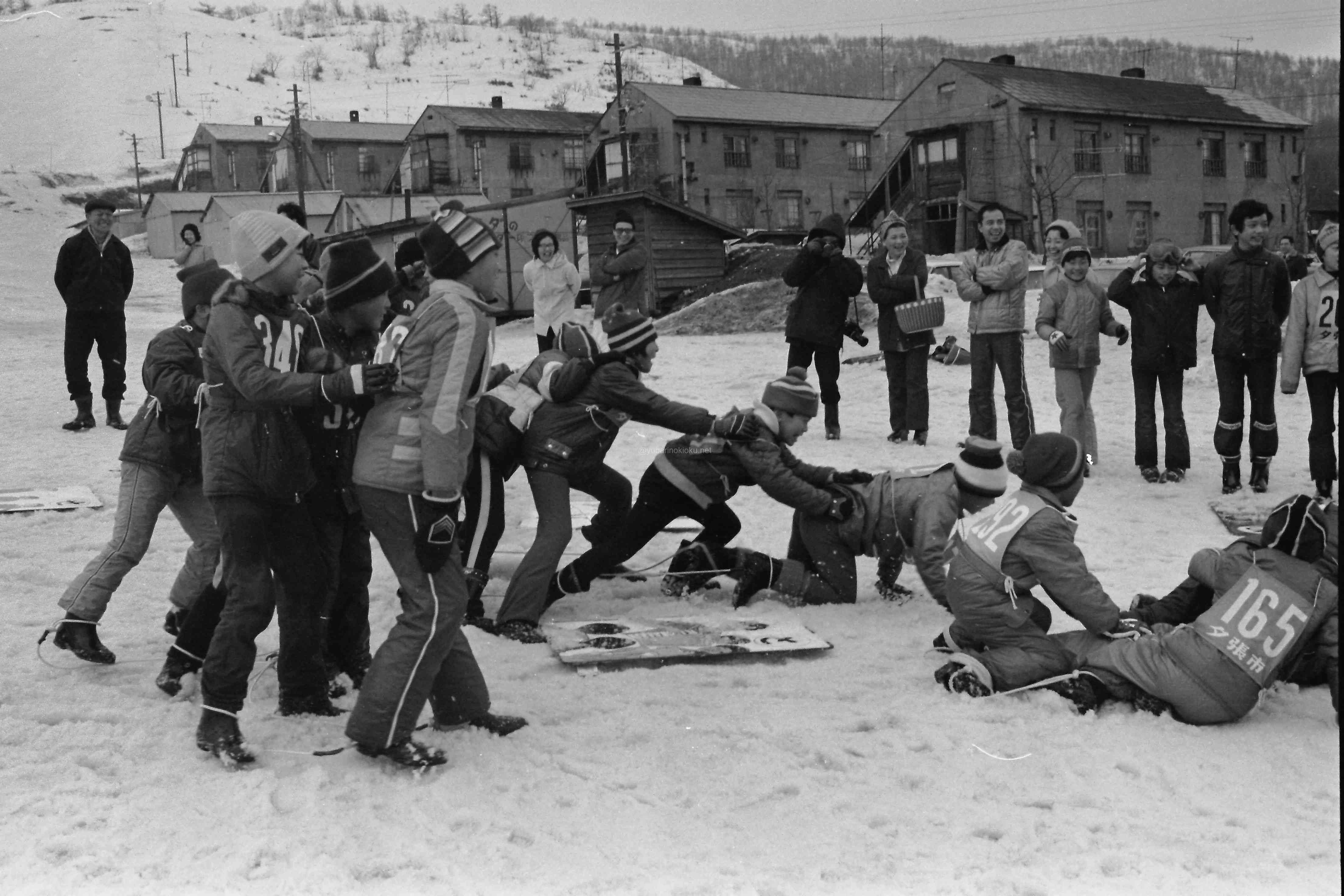 鹿の谷の市民スキー場で『冬の体力づくり』