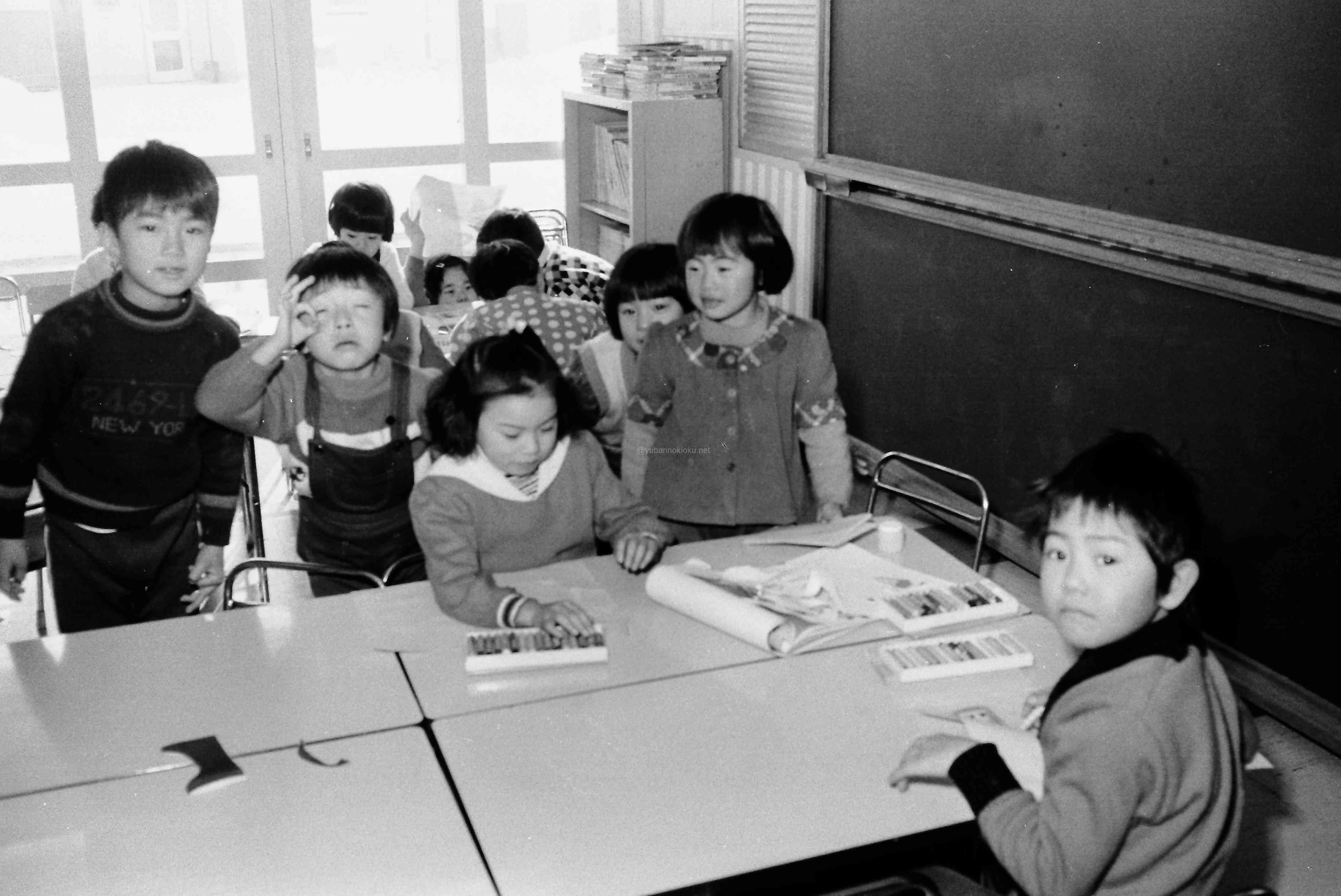開設直後、ピカピカの清陵保育園の子どもたち