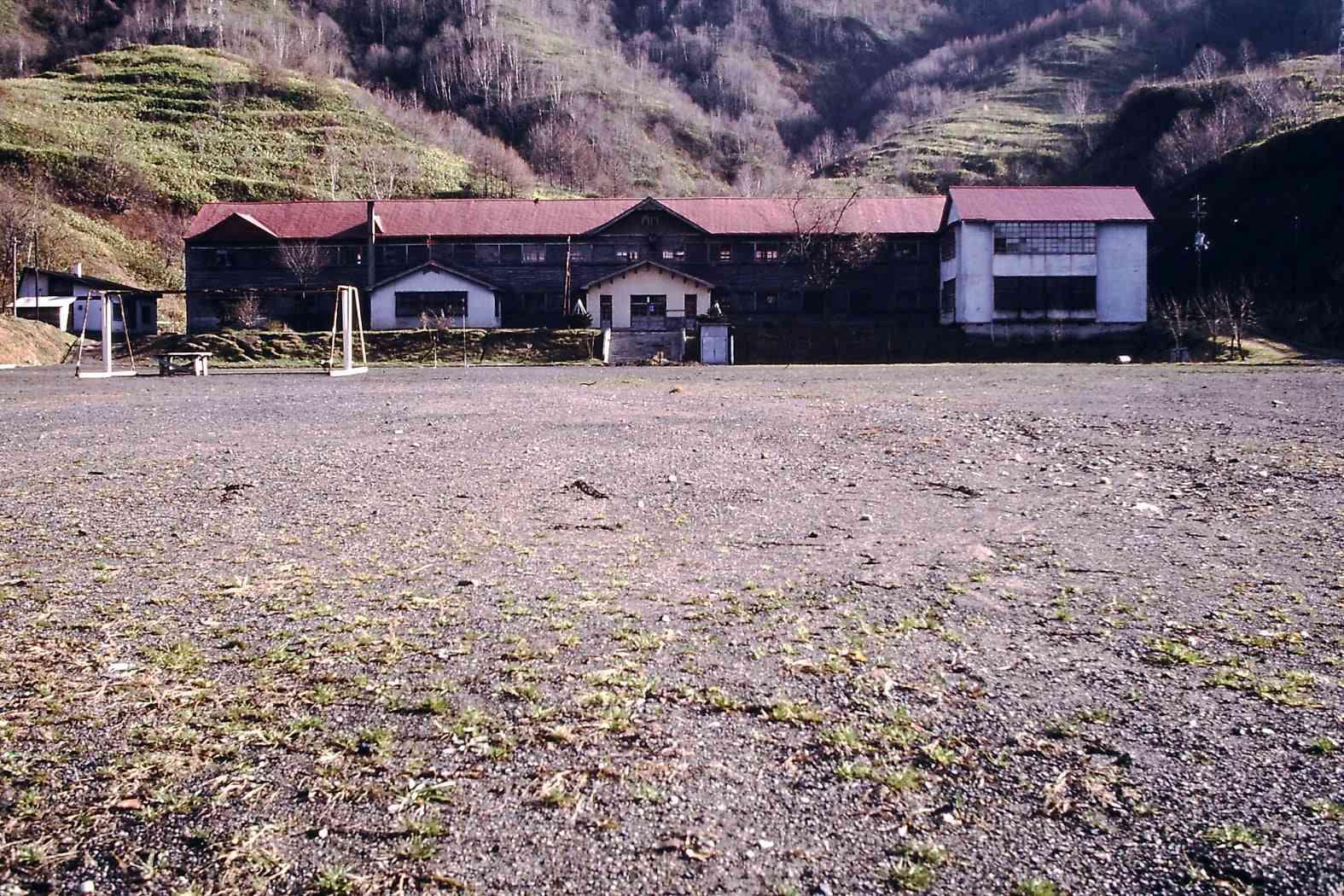 昭和52年の東山中学校