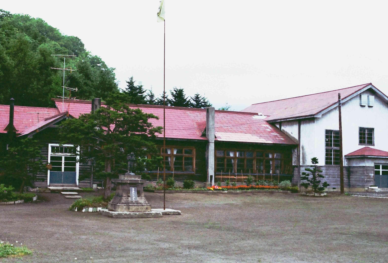 1970年代頃の富野小学校